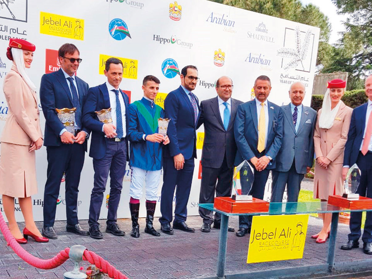 Kanaan steals the thunder in Dubai Arabian Stakes